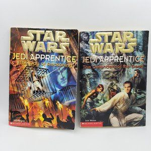 Two Vintage Star Wars Jedi Apprentice books